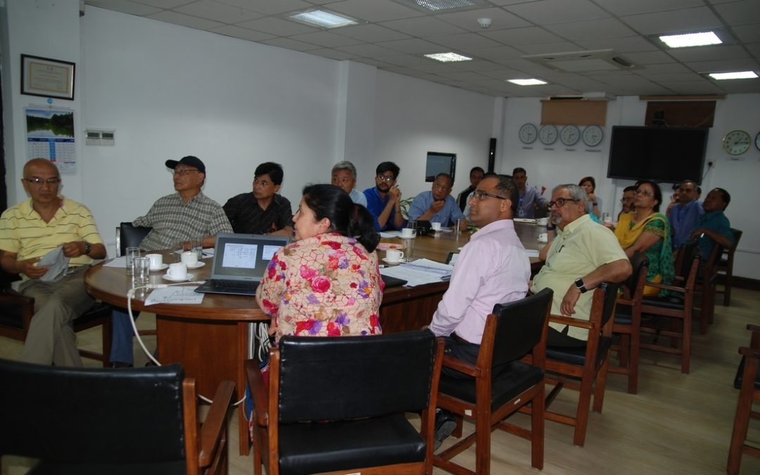 Sharing program on key findings of organization capacity Assessment (oca) of National society for earthquake technology- nepal (nset-n)