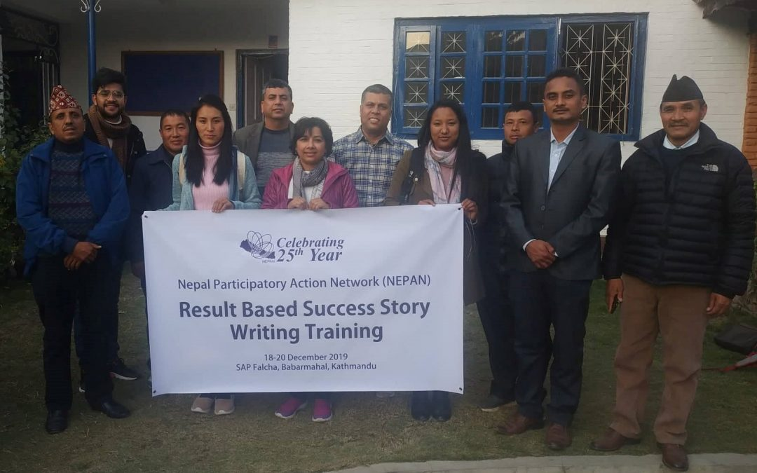 Successful completion of 'Result Based Success Story Writing Training'